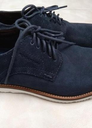 Замш-кожа туфли