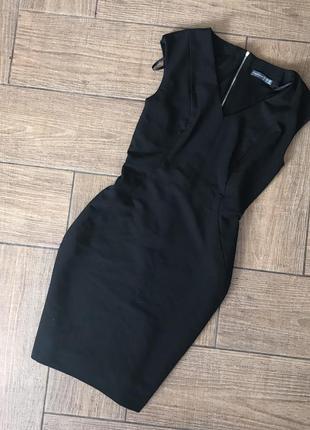#платья#чёрное #миди платье#платье atmosphere#