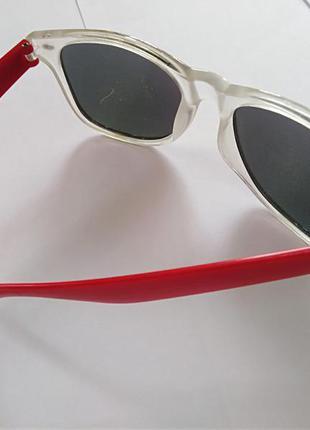 Окуляри сонячні весенние очки квадратные разноцветные солнечные темные