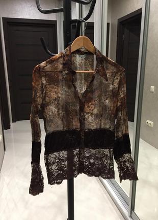 Кружевная блузка франция  🇫🇷