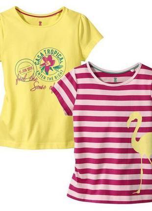 Набір футболок німецького виробника lupilu ))) 2 штуки