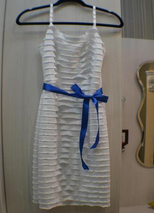 Белое платье (размер s)