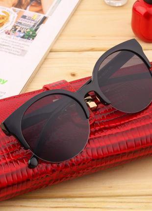 Качественные солнцезащитные очки кошечки cat eye в наличии