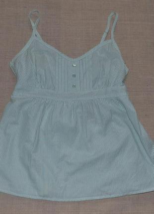Летняя новая хлопковая блуза топ f&f