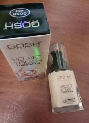 Тональный крем,gosh cosmetics,spf10,34ml,тон404