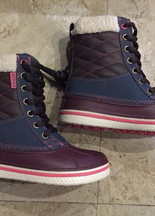 Crocs waterproof duck boot демисезонные ботинки , оригинал, бесплатная доставка