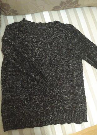 Кофта, свитер с люрексом marks & spencer