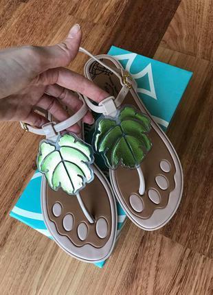 Новые резиновые сандали melissa vivienne westwood anglomania 40 р-р