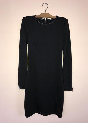 Чёрное короткое платье incity