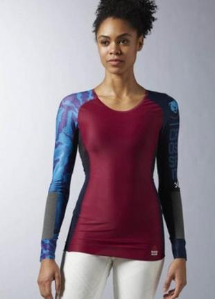 Женская компрессионная футболка reebok