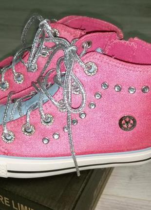 Супер гламурные кеды ботиночки