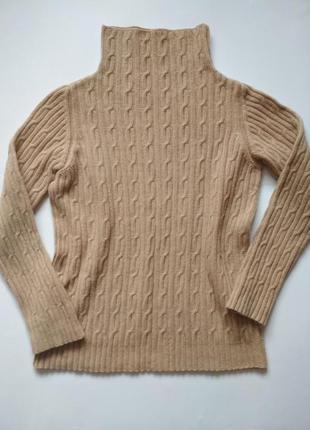 Шикарный теплый пуловер от max mara