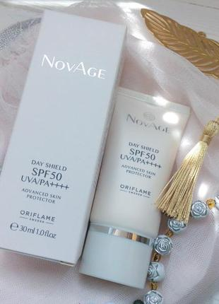 """Антивозрастной защитный чудо-крем для лица """"novage"""" (spf 50)"""