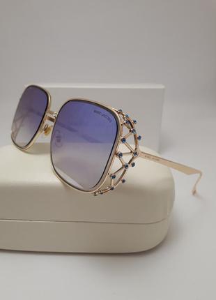New 2018 красивейшие солнцезащитные очки с нежно сиреневой линзой