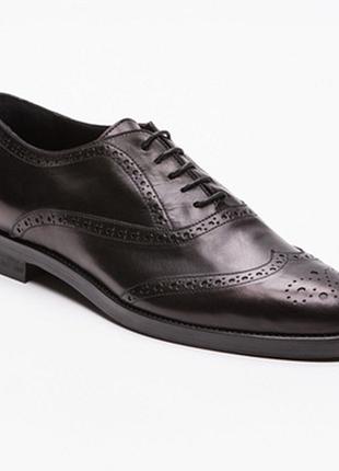100% кожа. мягусенькие туфли/броги/дерби/ришелье furla италия 40,5 и 41,5