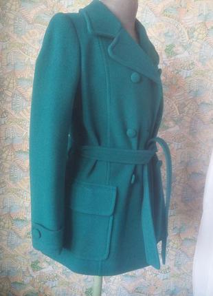 Пальто двубортное кашемир натуральный куртка