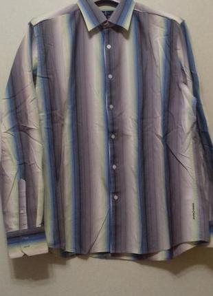 Рубашка с длинным рукавом р.l