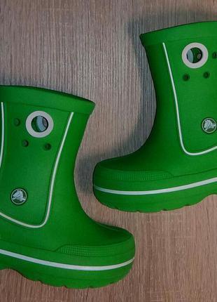 Детские сапоги crocs crocband jaunt kids,25-26 р.(8-9.),оригинал