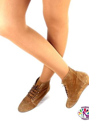 Ботинки 38 р minelli франция кожа оригинал