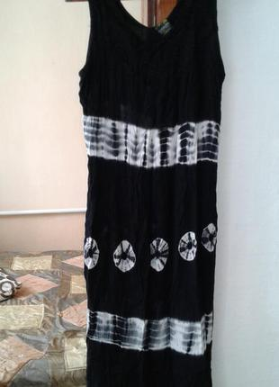 Легчайший сарафан-платье большого размера