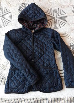 Стеганая демисезонная куртка new look