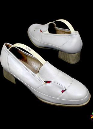 Туфли 41 р solidus германия кожа оригинал