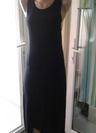 Трикотажное летнее платье-сарафан miss selfridge