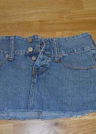 Классная джинсовая юбка denimco