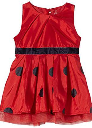 Нарядное платье на девочку 2 года -92р. name it baby girls 'dress