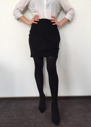 Черная юбка marks & spencer