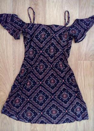 Летний сарафан платье