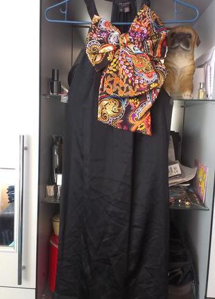 Шелковое платье ted baker