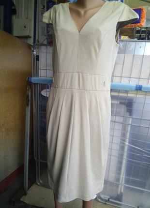 Деловое платье-сарафан