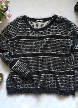 Мягенький свитер травка оверсайз tu  uk16/eur44