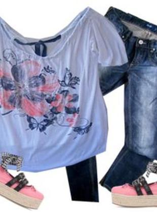 Модная футболка размер 48-50 бренд annabelle