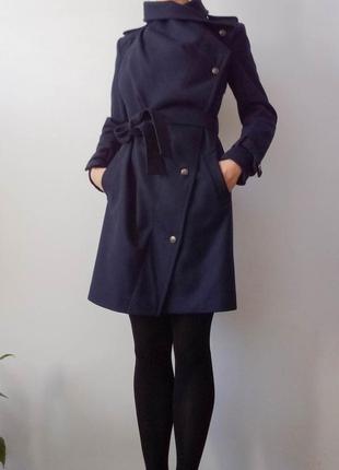 Дизайнерське пальто з теплим знімним підкладом від українського дизайнера андре тан