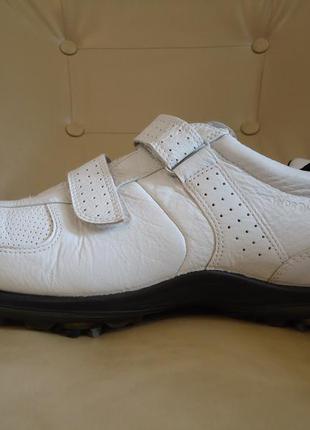 Кожаные мужские кроссовки ecco hydromax оригинал р. 46 стелька 30,5