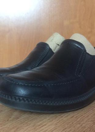 Кожаные туфли ecco