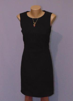 Базовое платье футляр 8 размера  h&m