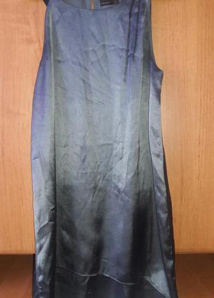 Шелковое платье красивого цвета