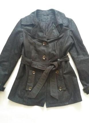 Куртка кожаная c&a размер 38