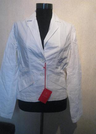 Белый летний пиджак