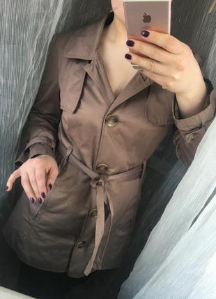 Стильное пальто,тренч!
