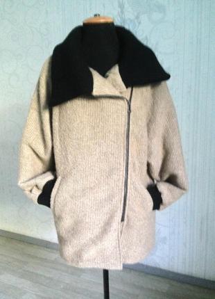 Пальто оверсайз, бойфренд, oversize, букле