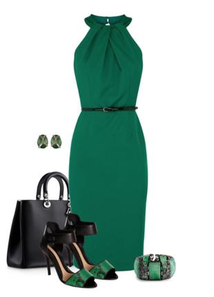 Красивое  атласное платье coast