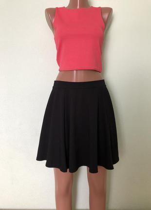 Чёрная юбка befree размер м/38