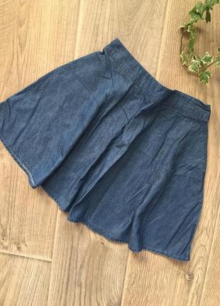 Тонкая юбка под джинс forever21