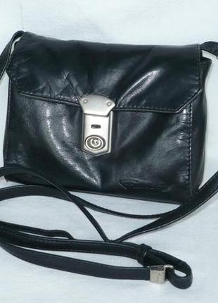 Funbag кожаная маленькая сумка ручка через плечо кросс-боди