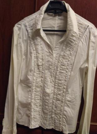 Блуза стрейч катон