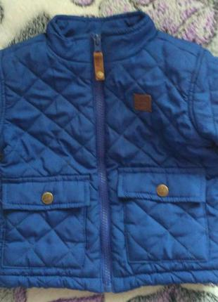 Куртка timberland весенняя для мальчика 12мес